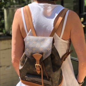 Louis Vuitton backpack mm